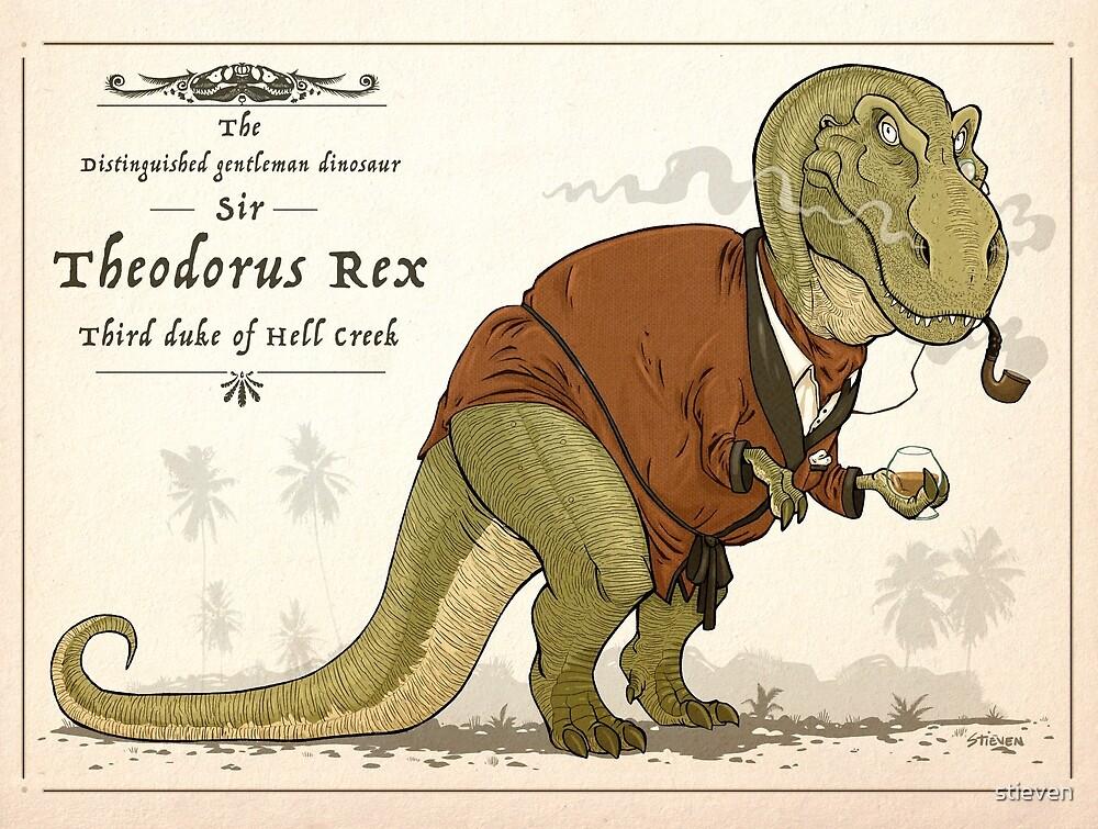 Gentleman Rex by stieven