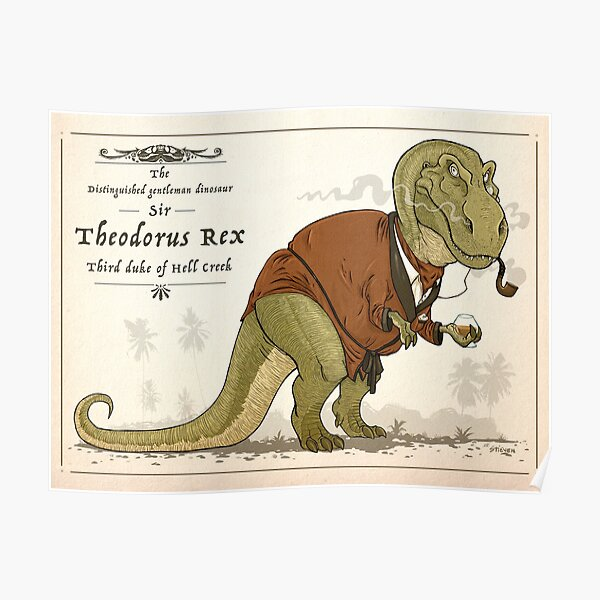 Gentleman Rex Poster