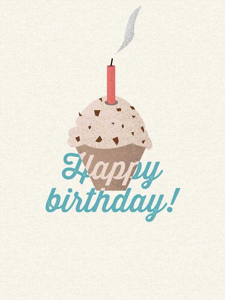 Happy Birthday Muffin by mirunasfia