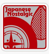 Japanese Nostalgic Sticker