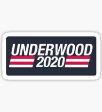 Underwood 2020 Sticker