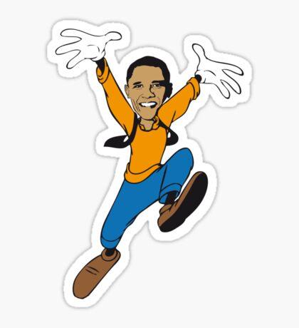 Mr. President Sticker