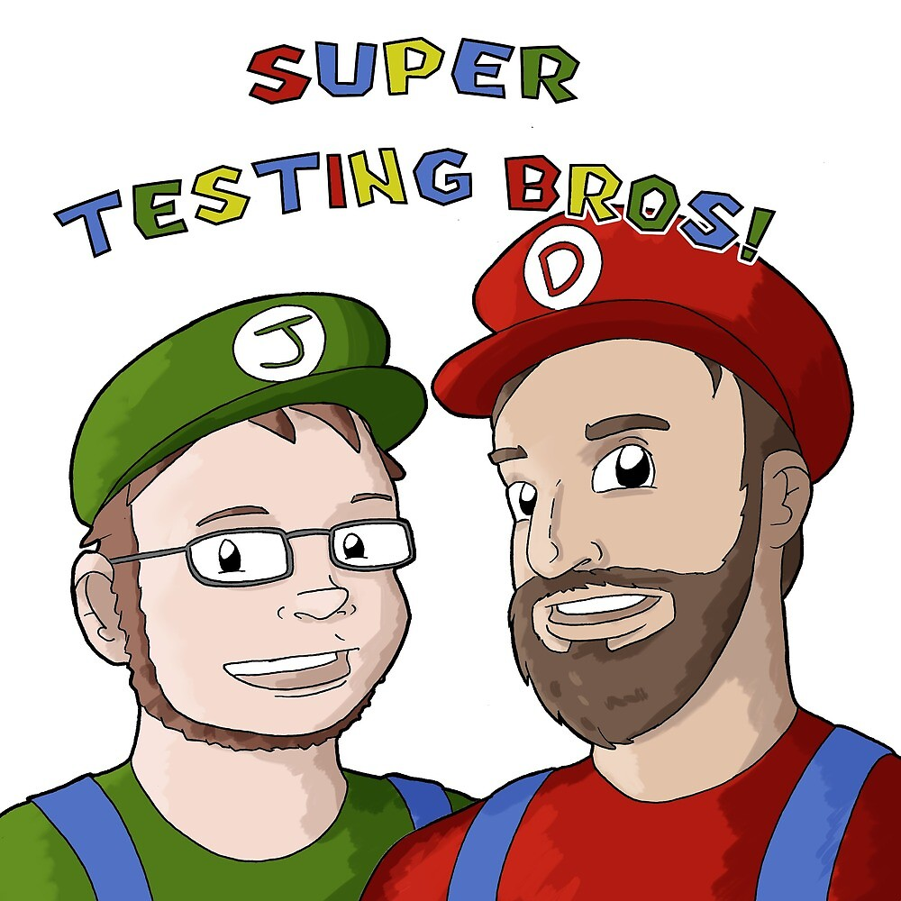 Super Testing Bros by SuperTestingBro