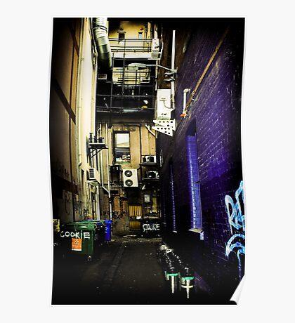 Melbourne Alley Poster