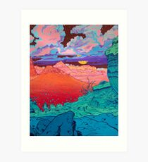 Pink Clouds 2 Art Print