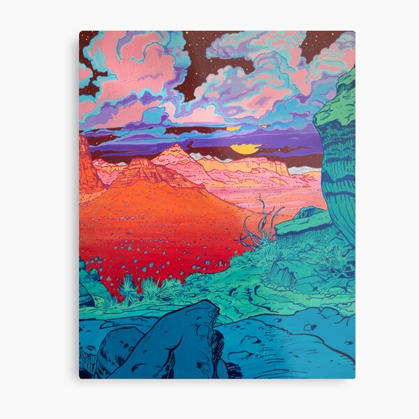 Pink Clouds 2 Metal Print