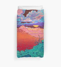 Pink Clouds 2 Duvet Cover