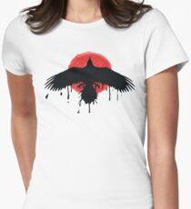 Chloe Price Black/Red Raven - Life Is Strange Before The Storm Women's Fitted T-Shirt