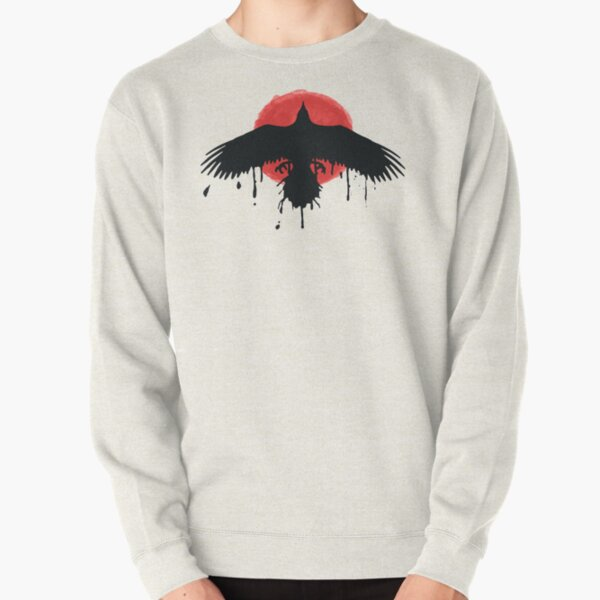 Chloe Price Black/Red Raven - Life Is Strange Before The Storm Pullover Sweatshirt