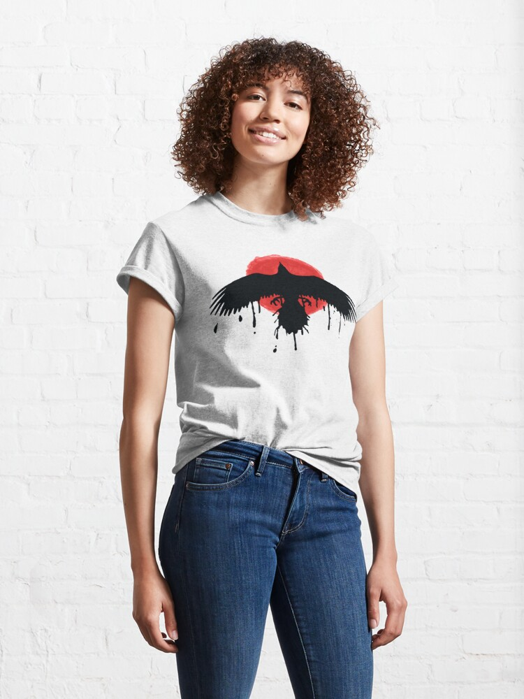 Alternate view of Chloe Price Black/Red Raven - Life Is Strange Before The Storm Classic T-Shirt
