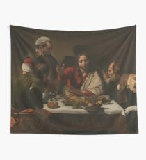 Supper at Emmaus Wall Tapestry