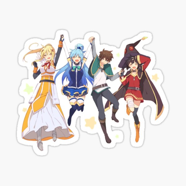 Konosuba 1 Sticker
