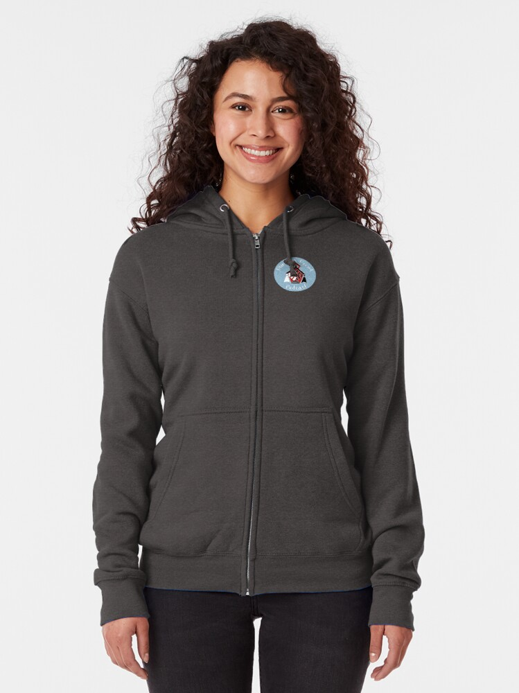Alternate view of Planning Period Podcast Zipped Hoodie