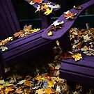 Autumn Colors on the Deck by Wayne King