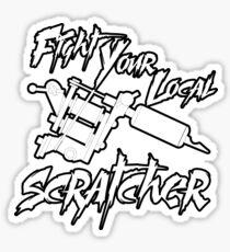 Fight Scratchers Sticker