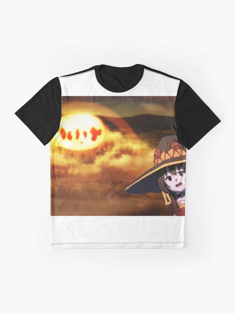 Vista alternativa de Camiseta gráfica Konosuba Megumin EXPLOSION 2