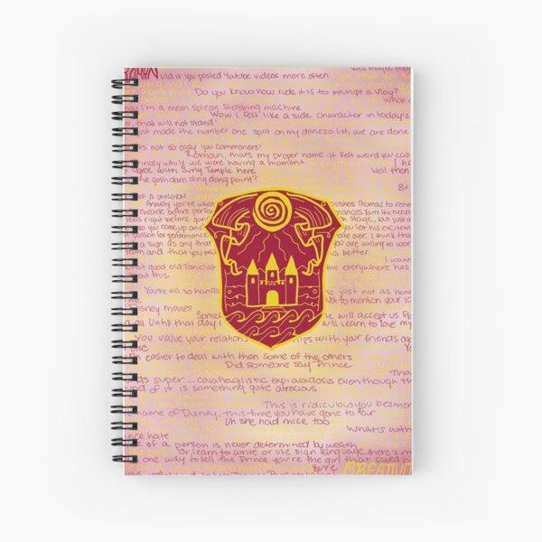 Roman Sanders  Spiral Notebook