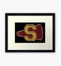 Sunnydale cheerleader  Framed Print