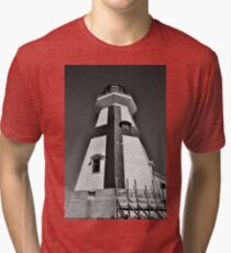 Head Harbour Lighthouse Tri-blend T-Shirt