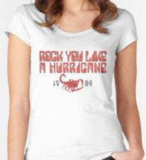 Rock You Like A Hurricane Women's Fitted Scoop T-Shirt