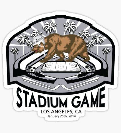 2014 LA Outdoor Game T-Shirt Sticker