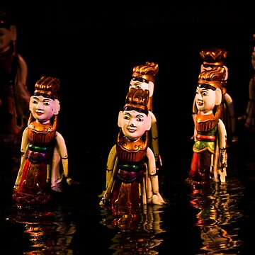Vietnamese Water Puppet by ccchan27