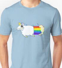 Unicorn Farts Slim Fit T-Shirt