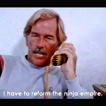 Ninja Terminator - T-Shirt by bestofbad