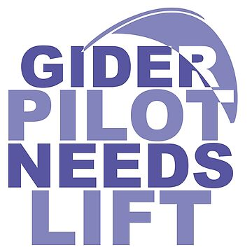 Glider Pilot Needs Lift by Rich76