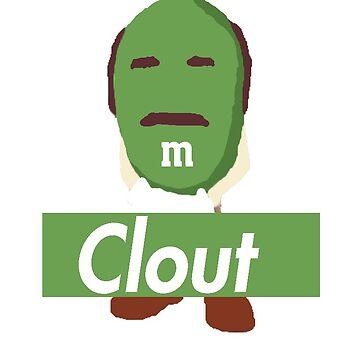 """""""Clout"""" Dr Phil M&M Print Lmt by traintracks"""