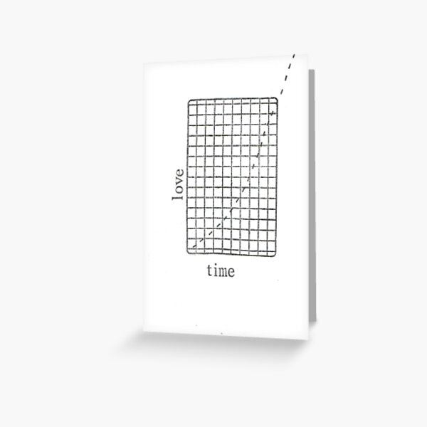 Off The Charts Greeting Card