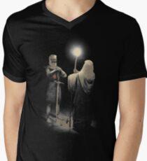 Sackgasse T-Shirt mit V-Ausschnitt für Männer
