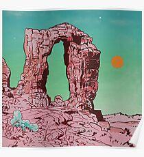 Pink Rock Poster