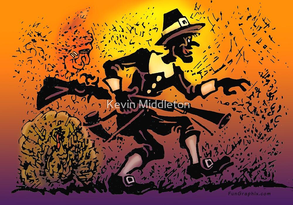 Thanksgiving Pilgrim by Kevin Middleton