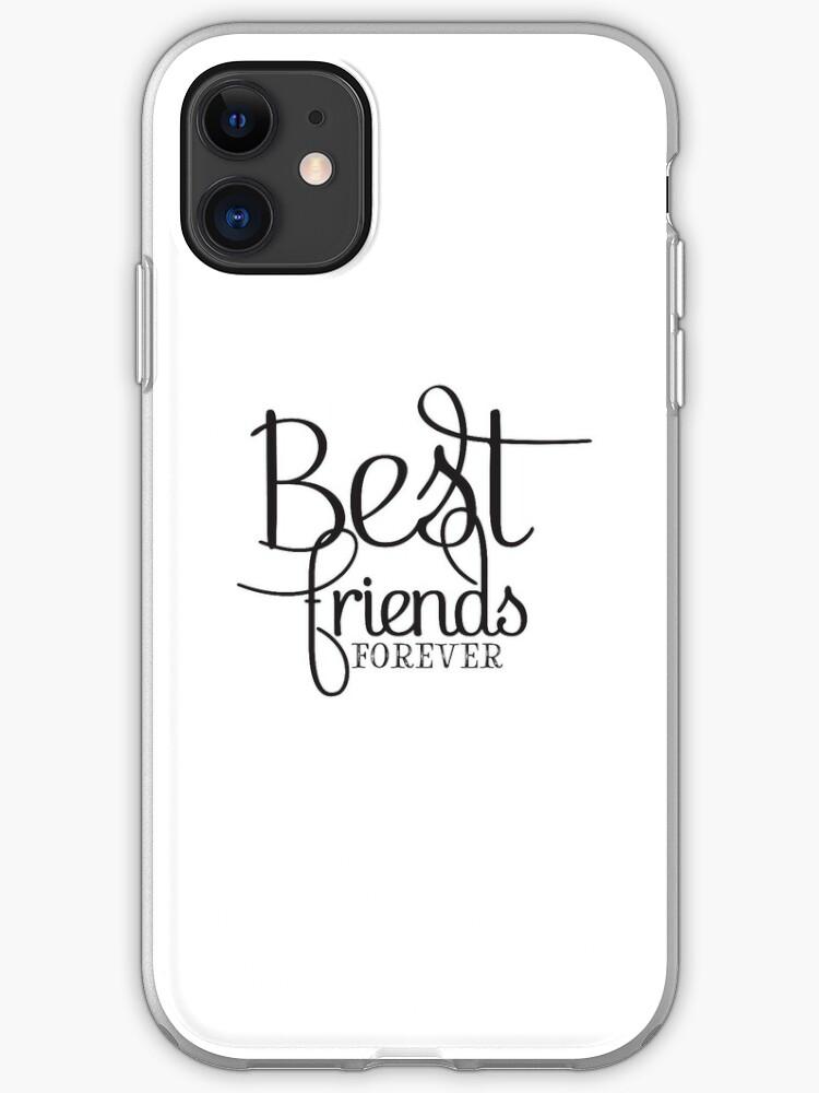 Siempre seremos mejores amigos funda para iphone 11 Pro XS Max X