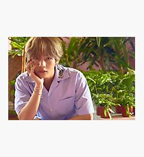 Taehyung Love Yourself Photographic Print