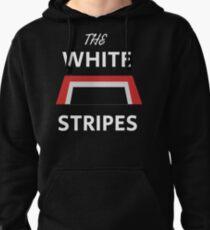 The White Stripes Trapezoid Logo Pullover Hoodie