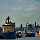 Aberdeen harbour by Terry Mooney