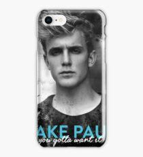 Jake Paul iPhone Case/Skin