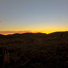 Sunrise in the Finders Ranges by Mark Richards