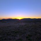 Sunrise in the Finders Ranges II by Mark Richards