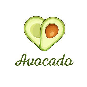 Avocado Love by VeganDesigner