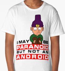 Paranoid Android - Radiohead Long T-Shirt
