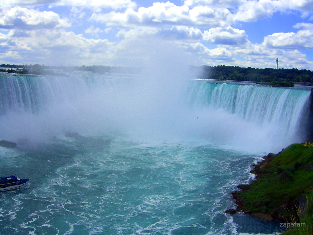 Niagra Falls by zapatam