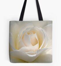 White Rose Tote Bag