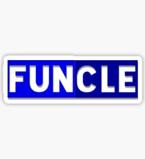 Funcle: The Fun Uncle  Sticker