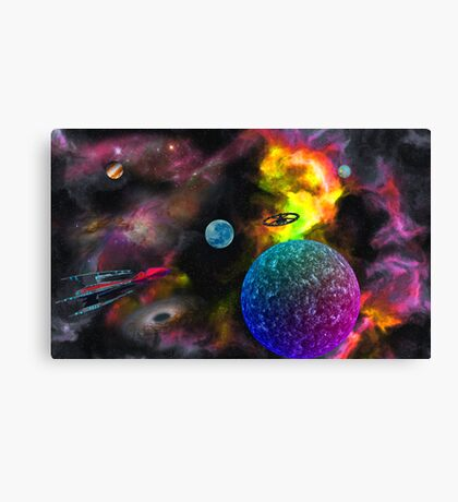 To Seek New Civilizations Canvas Print
