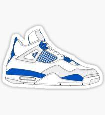 "Air Jordan IV (4) ""Military Blue"" Sticker"