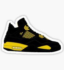 "Air Jordan IV (4) ""Thunder"" Sticker"