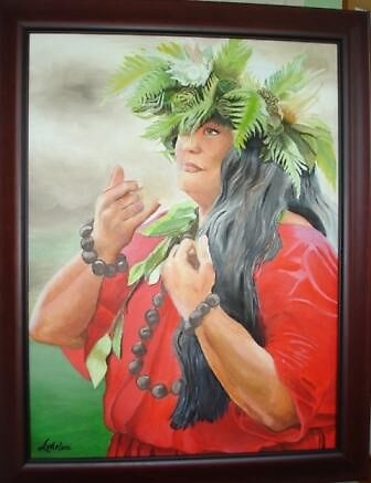 Kumu Hula (Dance Teacher) by Lokelani Forrest